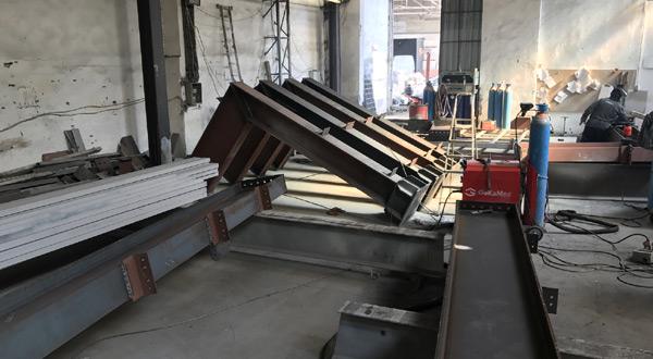 Ýstanbul'da bulunan Alsan çelik, çelik vinç yolu ve kren köprüsü imalat ve montaj iþleri tamamlandý.
