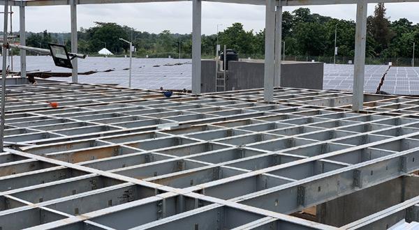 Nijerya Training Center binasý imalat ve montaj iþleri tamamlandý.